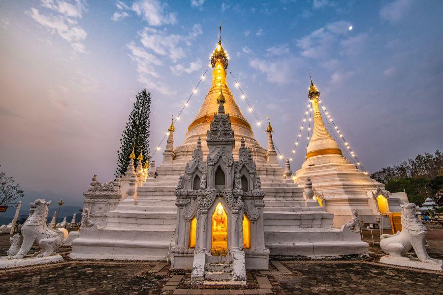Thailand Mae Hong Son Tempel