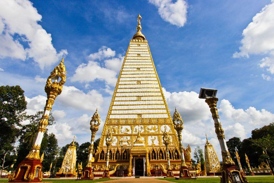 Thailand Nan Wat Pra That Nhong Bua pagode tempel