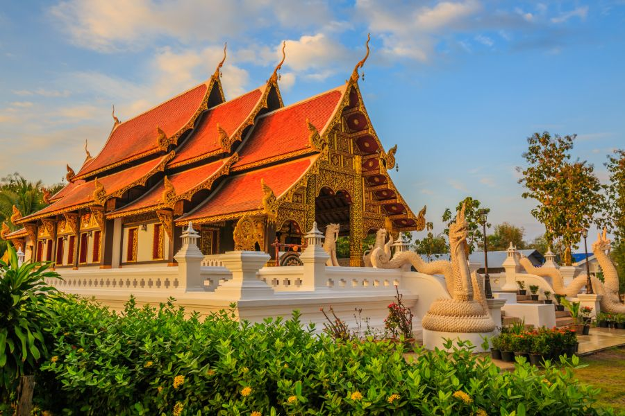 Thailand Nan provincie tempel 2 1