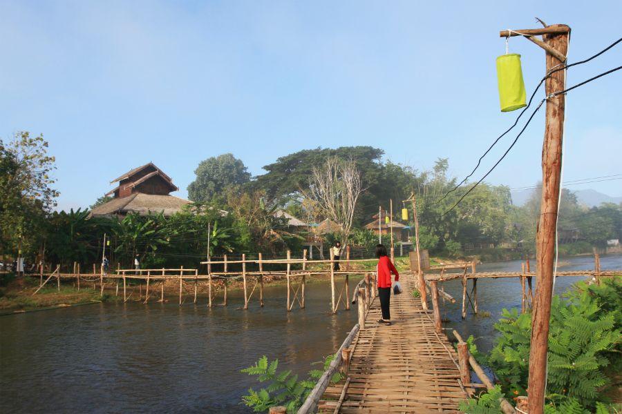 Thailand Pai Houten Brug