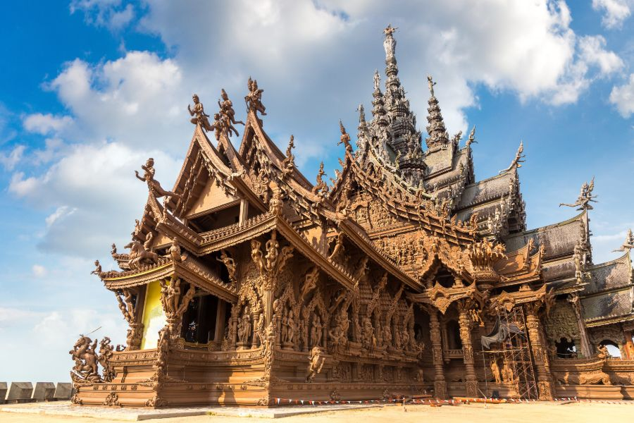 Thailand Pattaya Sanctuary of Truth heiligdom tempel boedhisme