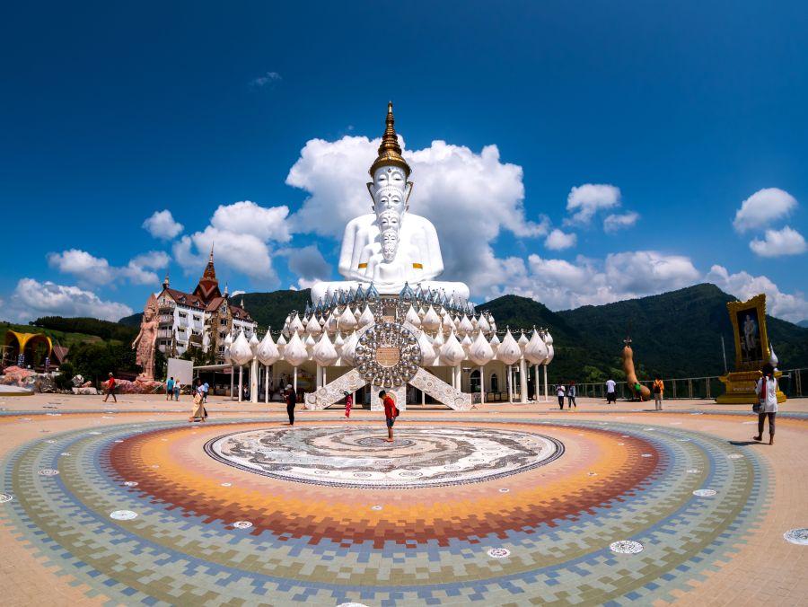 Thailand Phetchabun Wat Pha Sorn Kaew