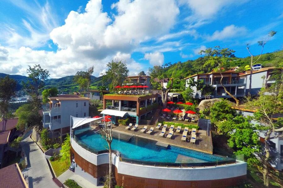 Thailand Phuket Amari Phuket Resort zwembad landschap