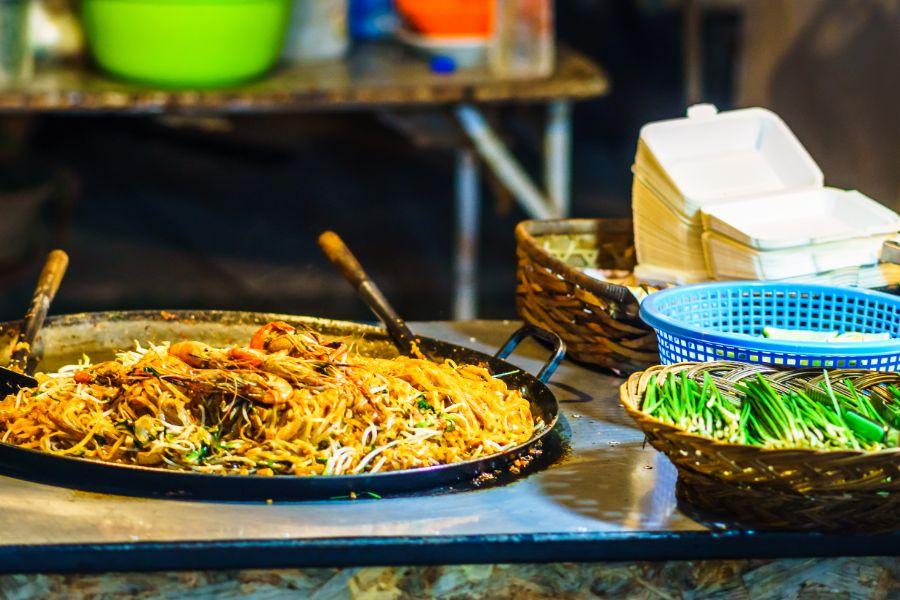 Thailand Thaise keuken streetfood