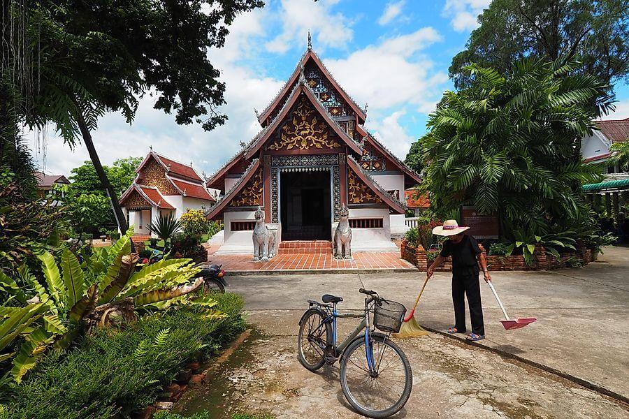 Thailand Tour Nan Bo Klua Pua tempel