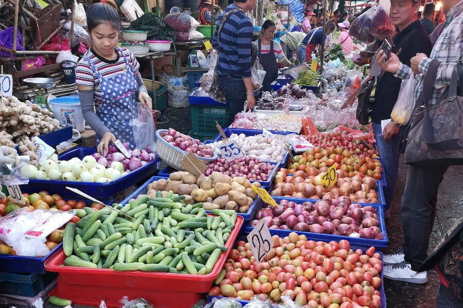 Thailand Tours Slum and Lumpini tour 19