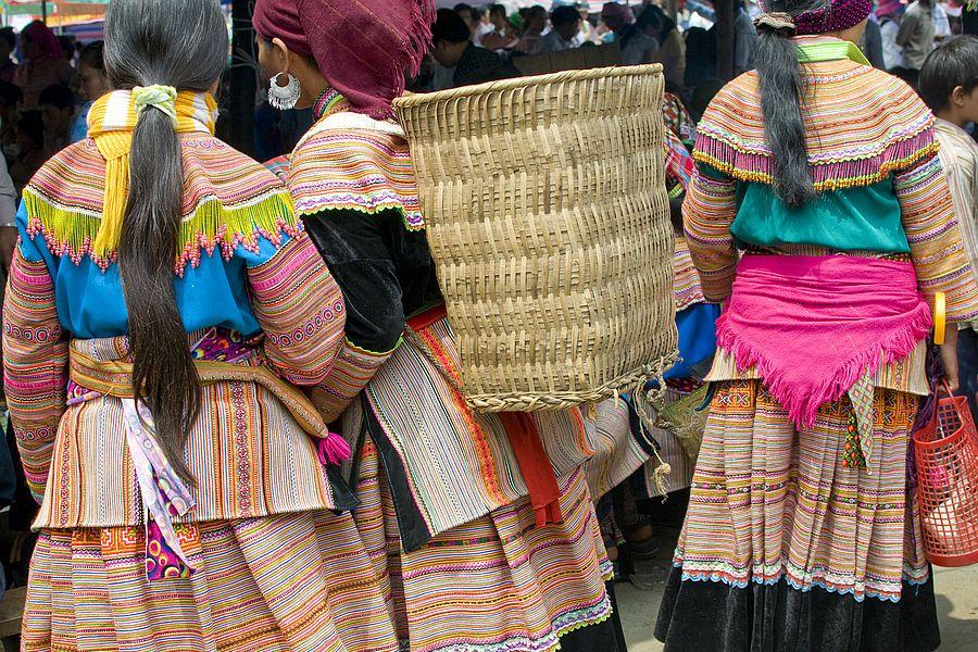 Vietnam Bloemen Hmong