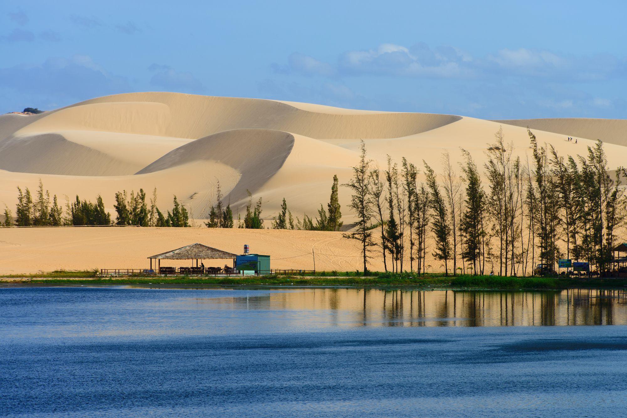 Vietnam Mui Ne witte zandduinen