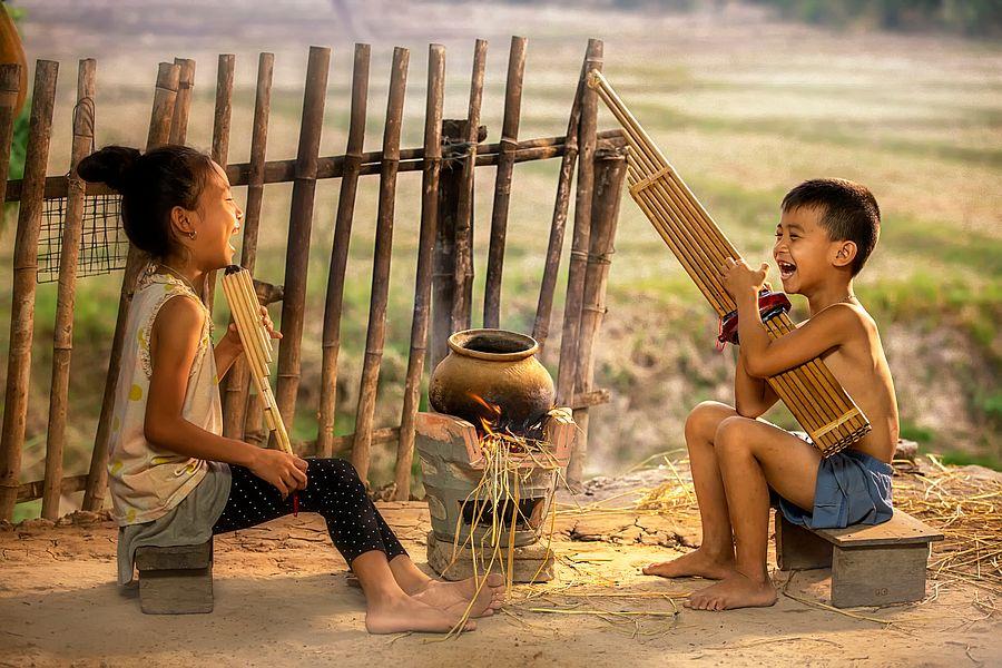 Vietnam local kids 02