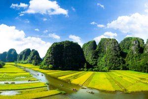 Geheimen van Ninh Binh, Halong Bay in de rijstvelden