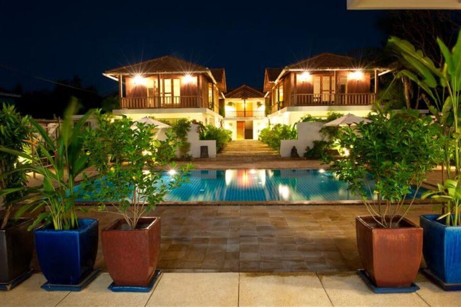Cambodja Battambang Bambu Hotel 15