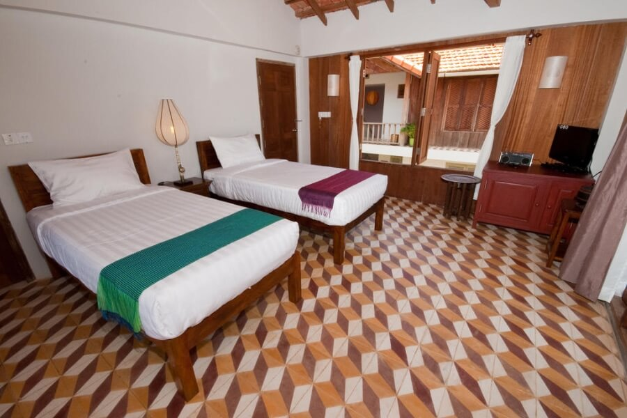 Cambodja Battambang Bambu Hotel 6