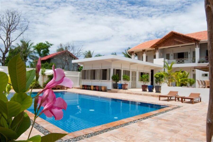 Cambodja Battambang Bambu Hotel 8
