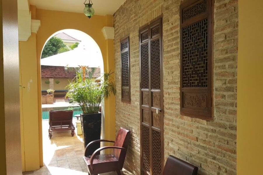 Cambodja Battambang La Villa Hotel 12