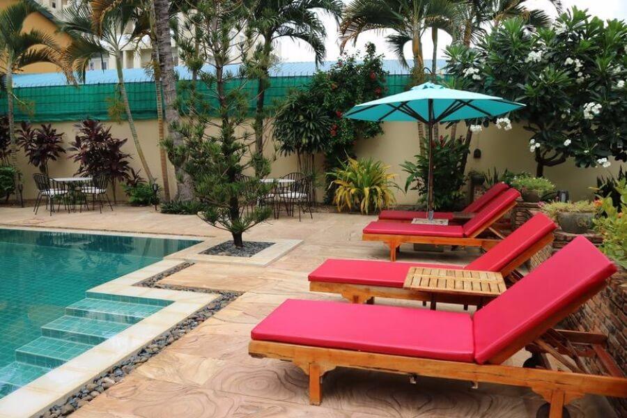 Cambodja Battambang La Villa Hotel 14
