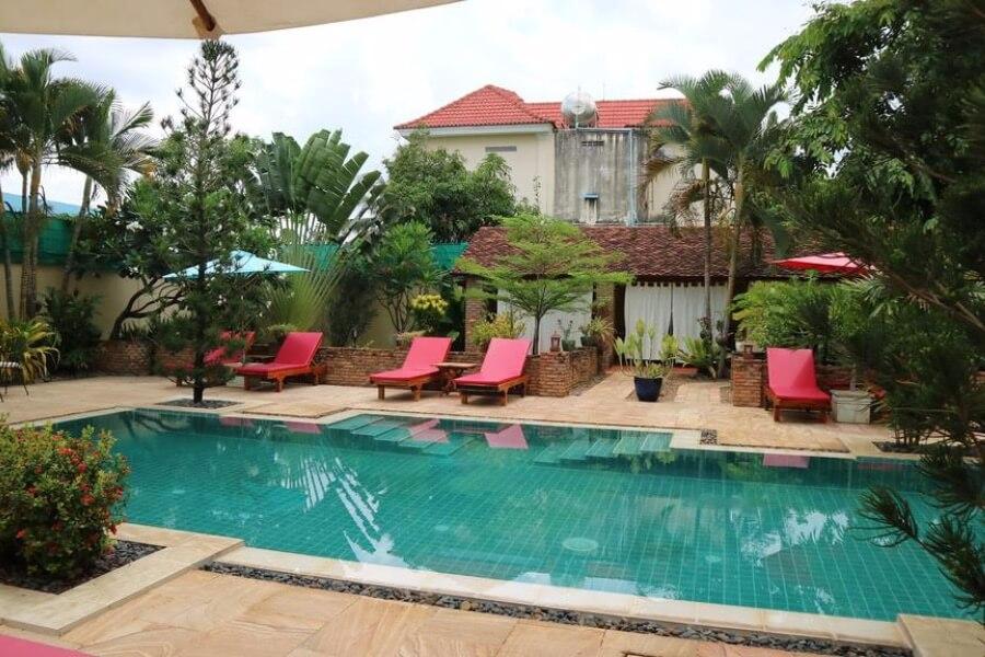 Cambodja Battambang La Villa Hotel 18