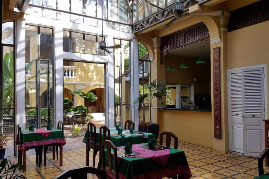 Cambodja Battambang La Villa Hotel 3
