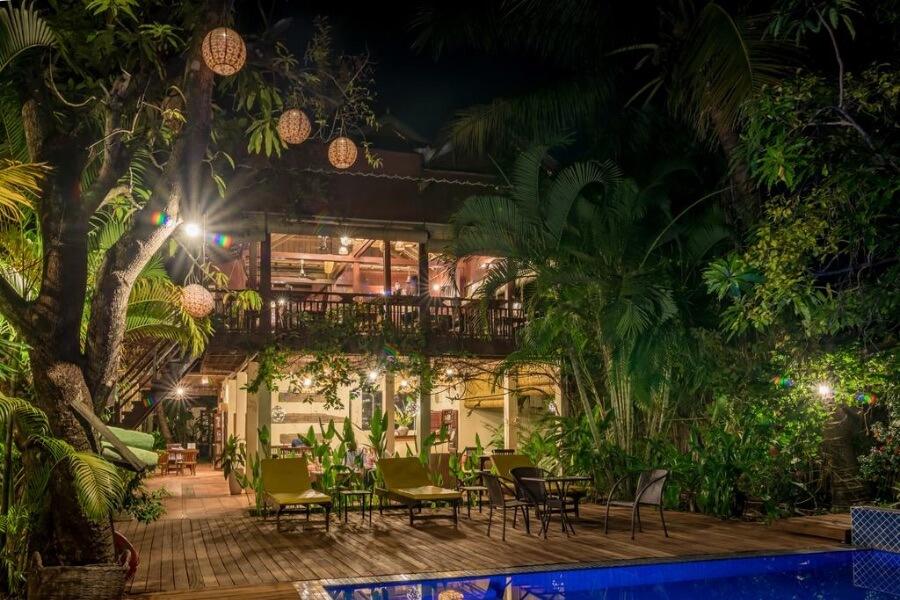 Cambodja Kampong Thom Sambor Village Hotel 11