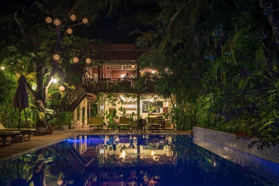 Cambodja Kampong Thom Sambor Village Hotel 12