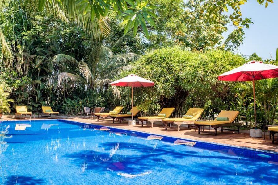 Cambodja Kampong Thom Sambor Village Hotel 18