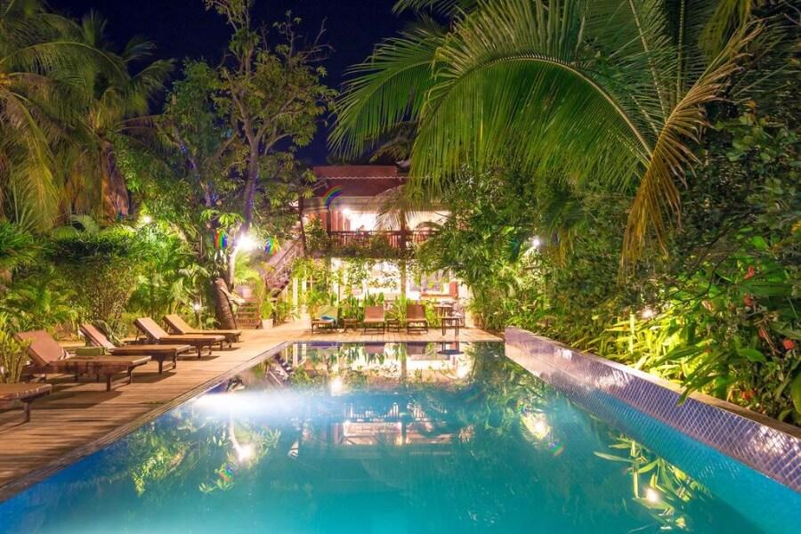 Cambodja Kampong Thom Sambor Village Hotel 9