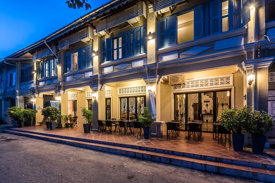 Cambodja Kampot The Columns Hotel 19
