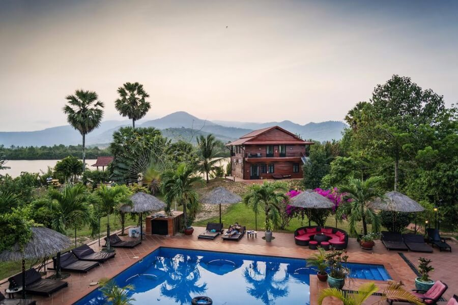 Cambodja Kampot Villa Vedici 13