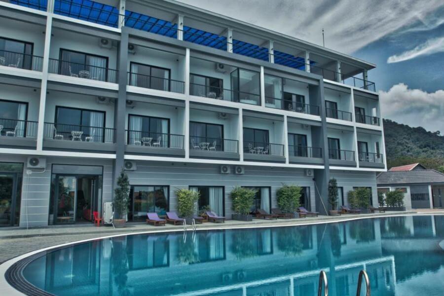 Cambodja Kep Bay Hotel Resort 4