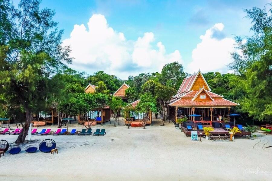 Cambodja Koh Rong Samloem Sol Beach Resort 1