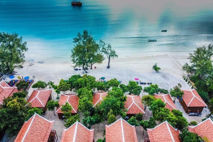 Cambodja Koh Rong Samloem Sol Beach Resort 14