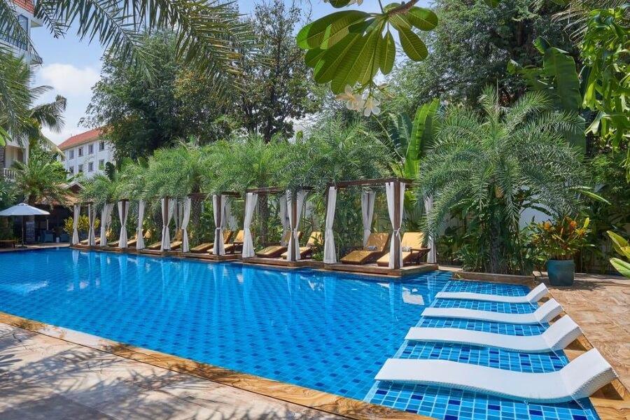 Cambodja Phnom Penh Palace Gate Hotel Resort 12