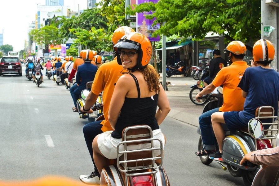 Excursie Scooter streetfood tour Ho Chi Minhstad 1