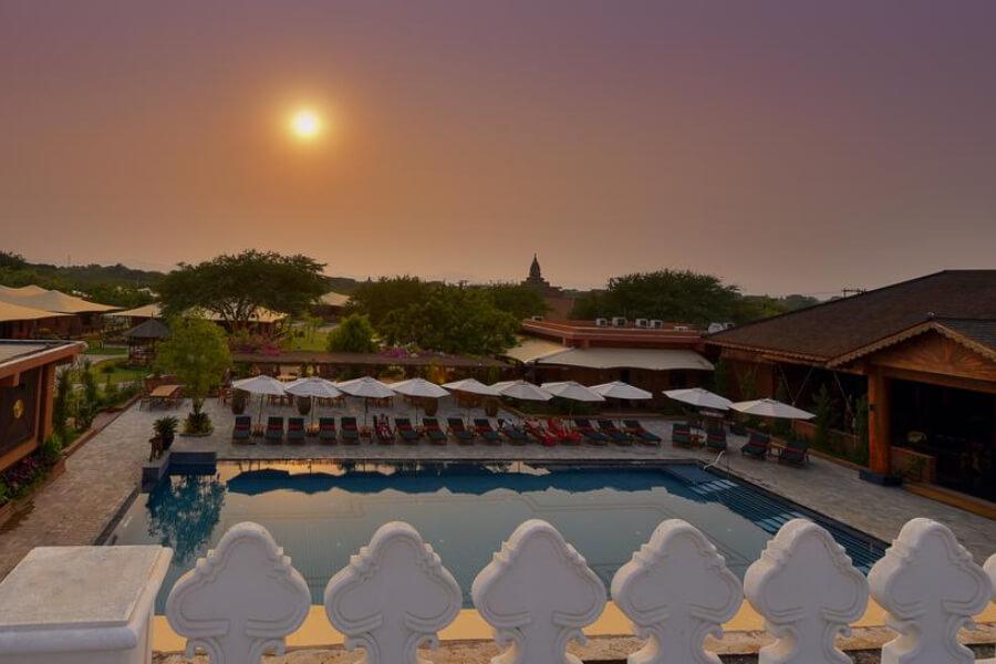 Hotel Myanmar Bagan Bagan Lodge 13