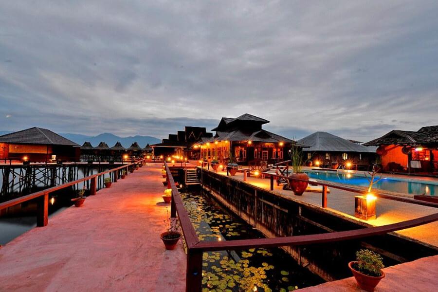 Hotel Myanmar Inle Lake Shwe Inn Tha Floating Resort10