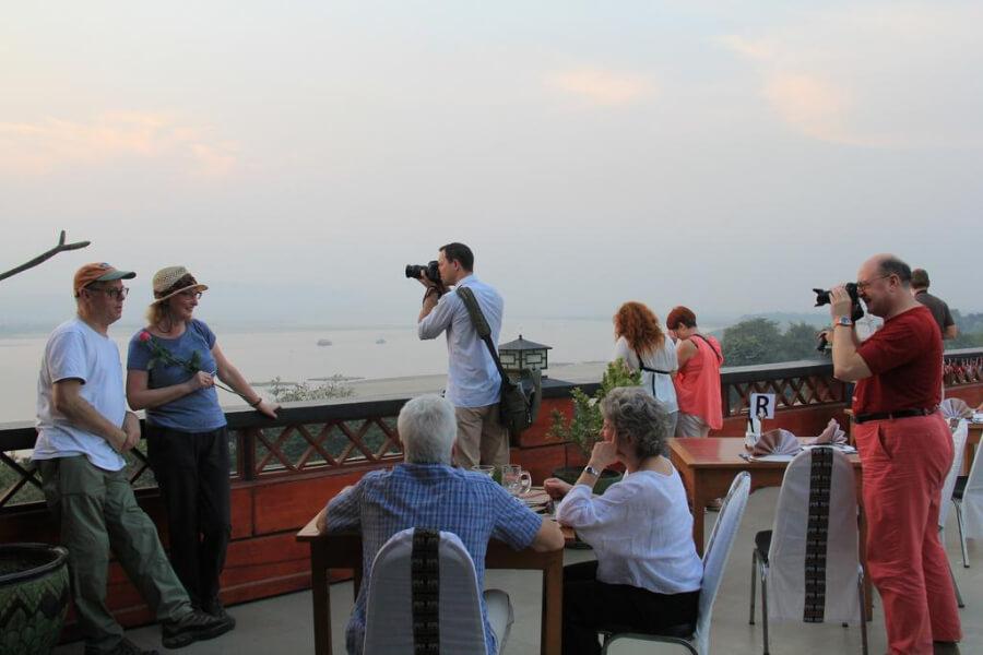 Hotel Myanmar Mandalay Ayarwaddy River View Hotel 27