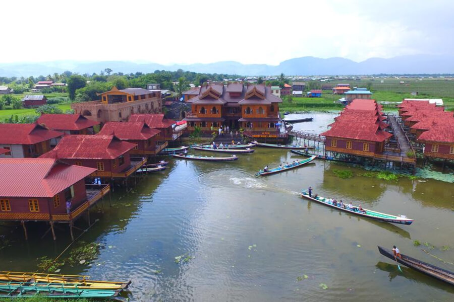 Hotel Myanmar Nyaung Shwe Ann Herritage Lodge18
