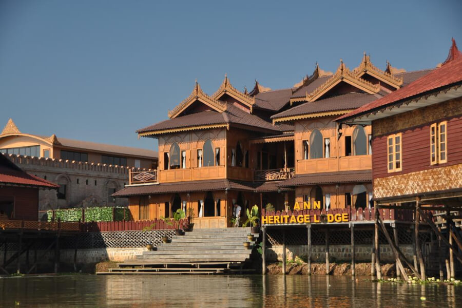 Hotel Myanmar Nyaung Shwe Ann Herritage Lodge19