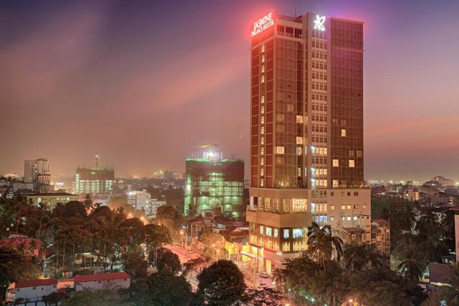 Hotel Myanmar Rangoon Jasmine Palace Rangoon13