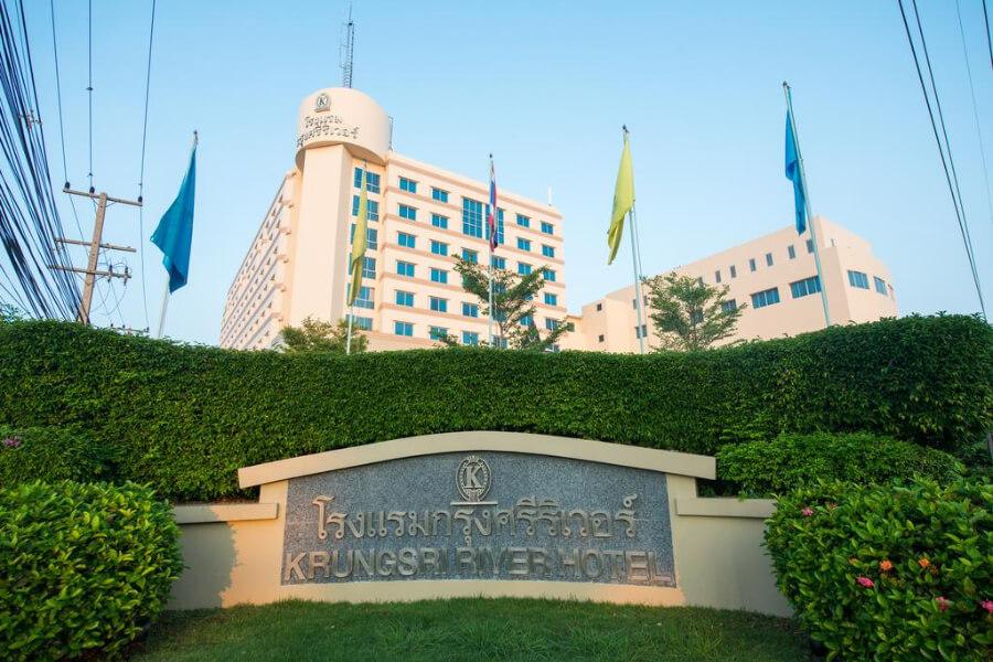 Hotel Thailand Ayutthaya Krungsi River Hotel 8 14