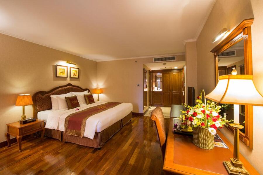 Hotel Vietnam Ho Chi Minh Grand Hotel Saigon Hotel kamer 2