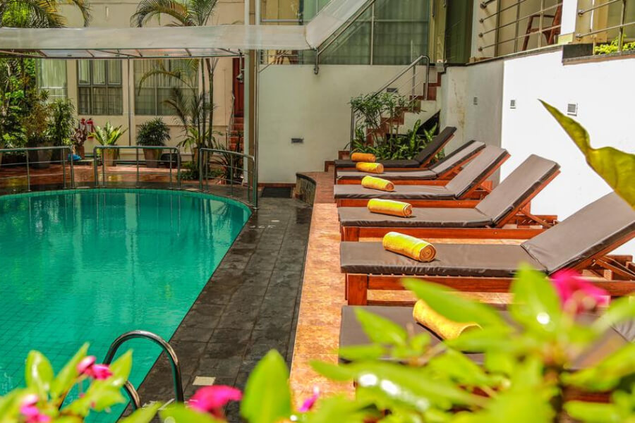 Hotels Sri Lanka Kandy Oak Ray Serene Garden 6