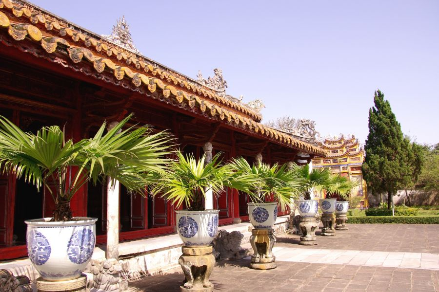 Hue Tempel in citadel