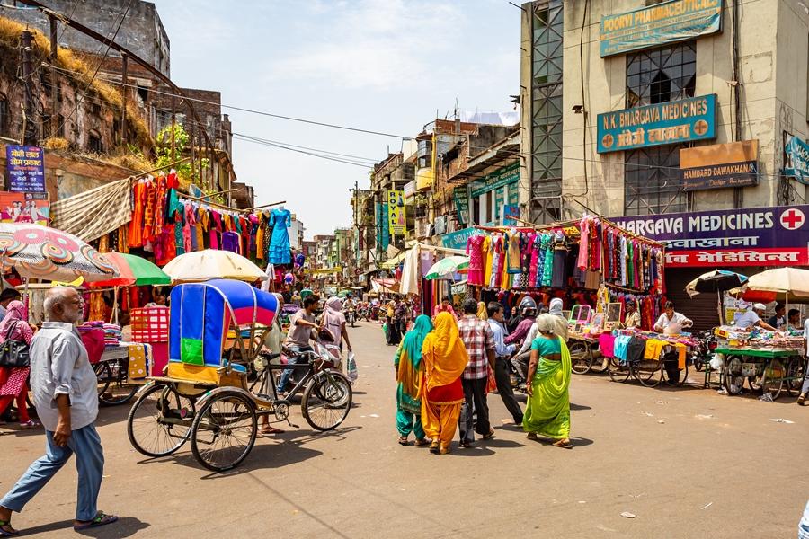 India Delhi Chandni Chowk markt