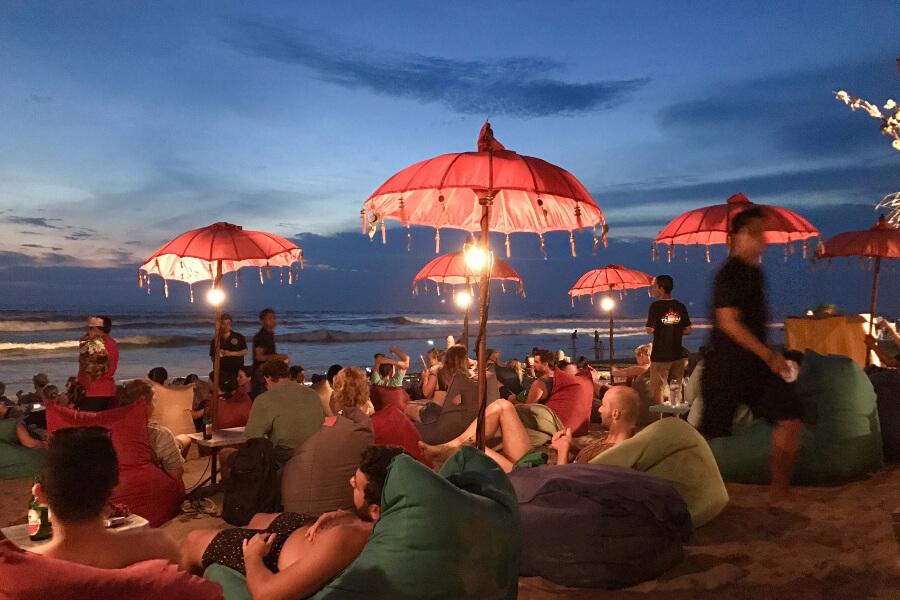 Indonesië Bali Seminyak Strand