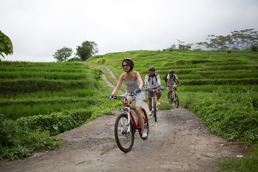 Indonesie Bali Fietstour .