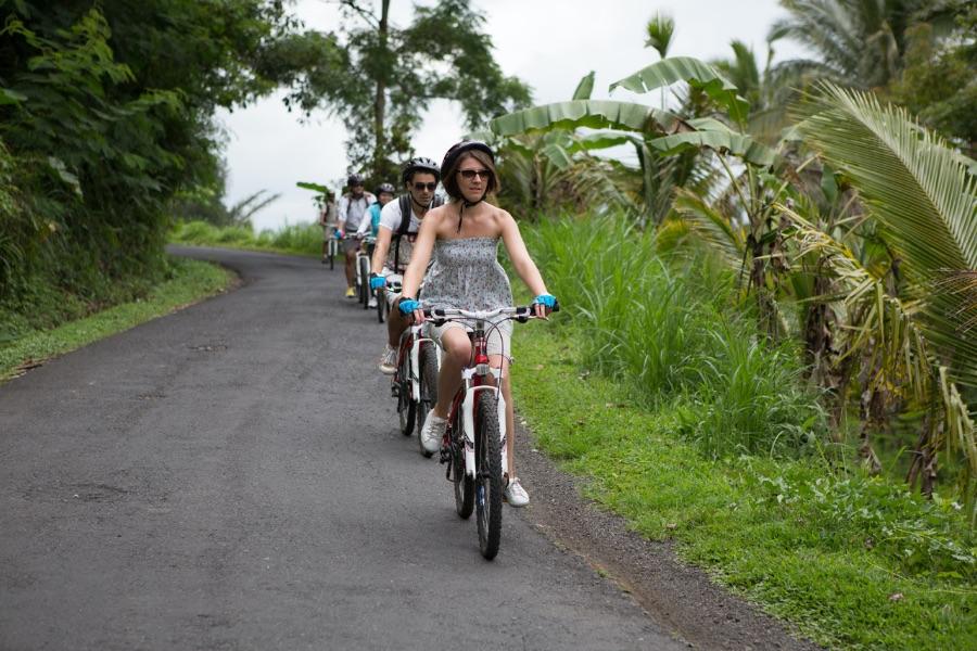 Indonesie Bali Fietstour tussen de rijstvelden