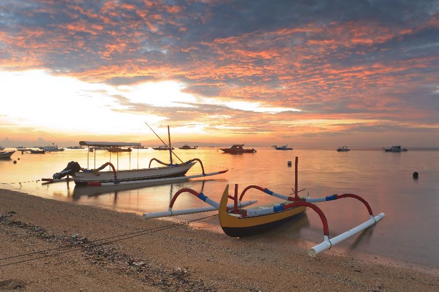 Indonesie Bali Lovina strand