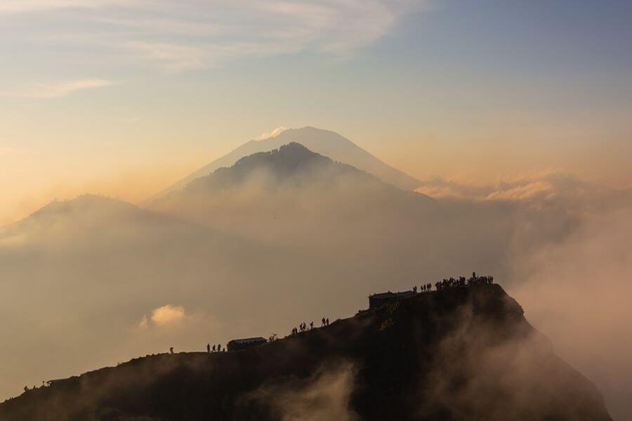 Indonesie Bali Mt Batur