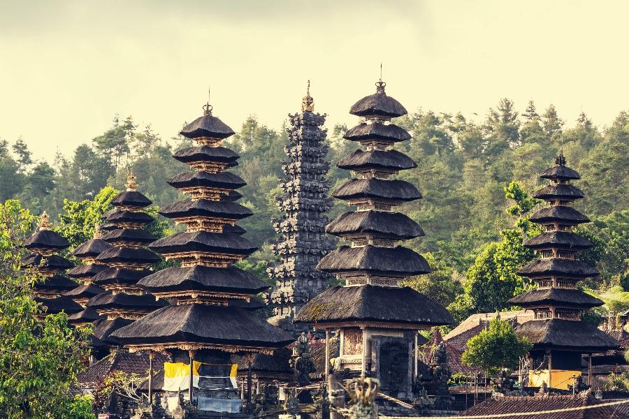 Indonesie Bali Oost bali Pura Besakih tempel