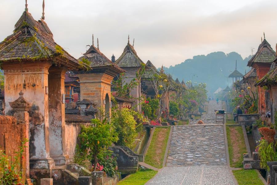 Indonesie Bali Penglipuran